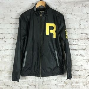 Reebok Classic Men's Track Jacket Size Small Black